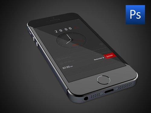 Free PSD Alarm App U? 设计素材下载