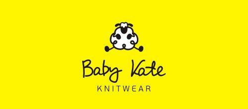 Baby Kate 绵羊logo