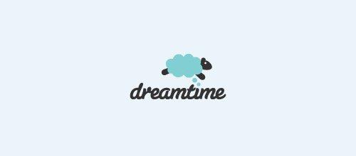 Dreamtime 绵羊logo