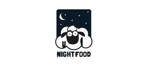 Night Food 绵羊logo