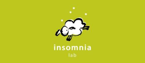 insomnia lab 绵羊logo