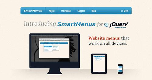 手机菜单插件:SmartMenus
