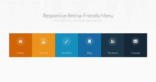 手机菜单插件:Responsive Retina-Ready Menu