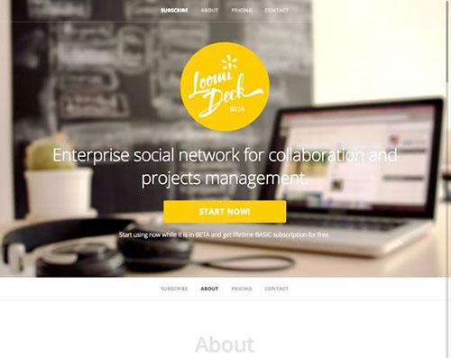 22个手机APP应用官方网站设计