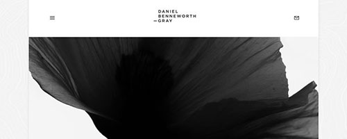 Daniel Benneworth-Gray - 简洁网页设计