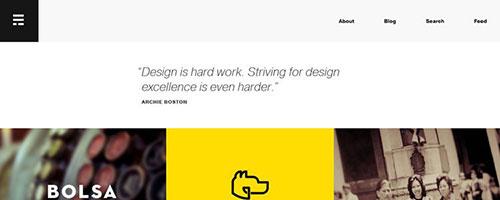 Erik Ford - 时尚 简约网页设计