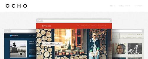 OCHO - 简约网页设计