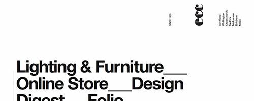 ECC Lighting & Furniture - 时尚 简约网页设计