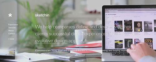 Sketchin - 时尚 简约网页设计
