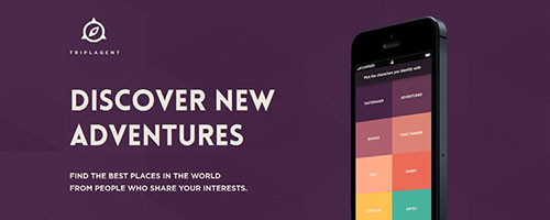 TriplAgent - 简洁网页设计