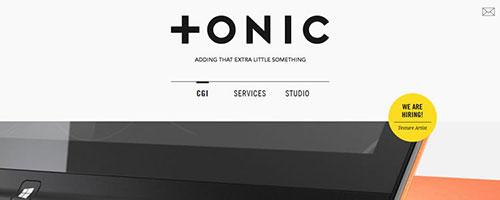 Tonic - 时尚 简约网页设计