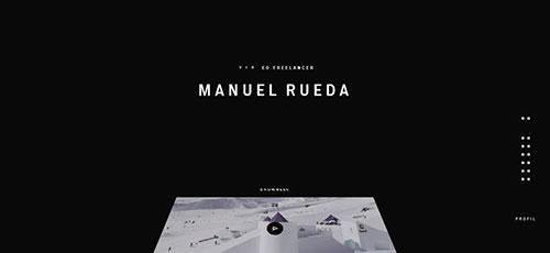Manuel Rueda - 简约网页设计