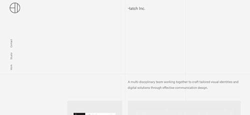 Hatch Inc - 简约网页设计