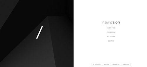 NewVision - 时尚 简约网页设计