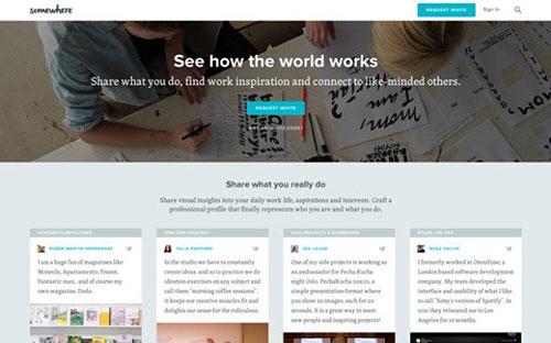 类的网页设计欣赏