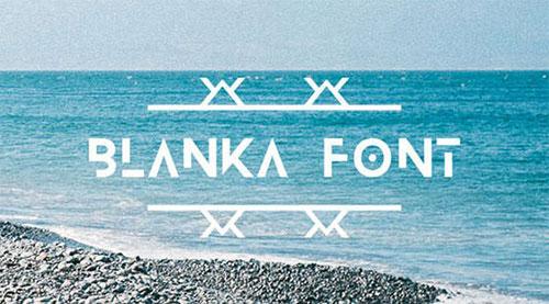 blanka-free-font 字体下载