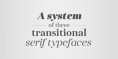 serif-typefaces 字体下载