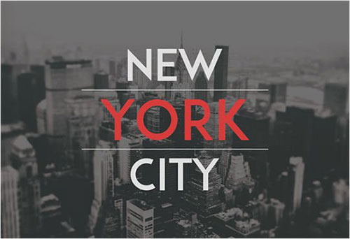 newyork-city 字体下载