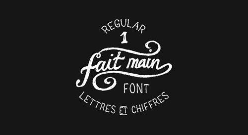 fait-man-1-free-font 字体下载