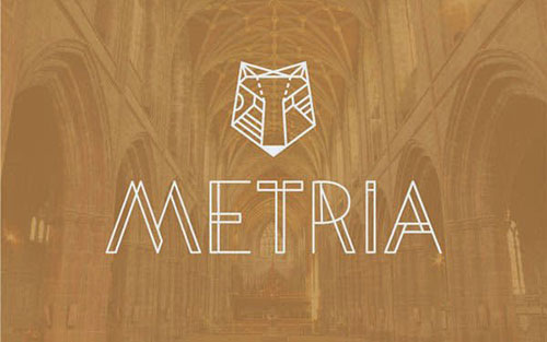 metria-font 字体下载
