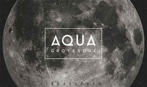 free-font-aqua-grotesque 字体下载