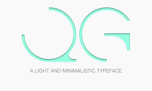 cg-font 字体下载