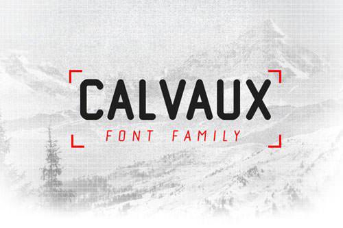 calvaux-font 字体下载