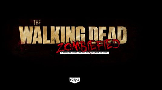 视觉滚动 网站  Walking Dead