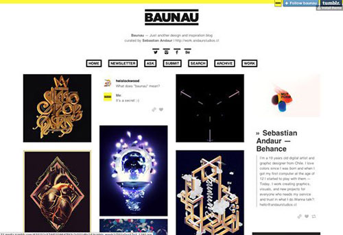 best tumblr blogs for designers 设计博客
