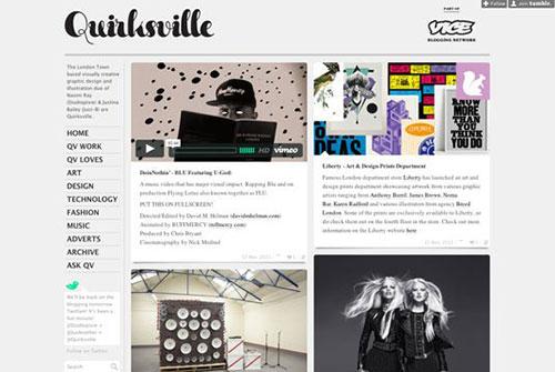 Quirksville 设计博客