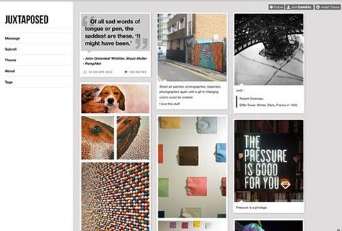 Juxtaposed 设计博客