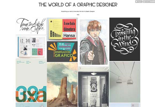 THE-WORLD-OF-A-GRAPHIC-DESIGNER 设计博客