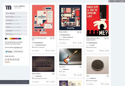 inspiredMark 设计博客