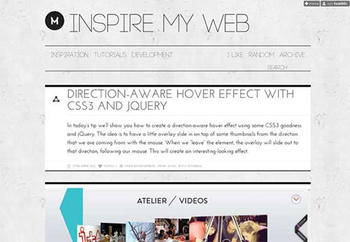 Inspire-my-Web 设计博客