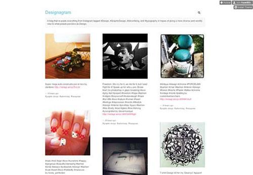 Designagram 设计博客