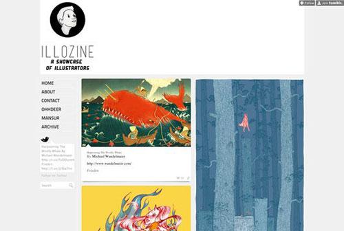 Illozine 设计博客