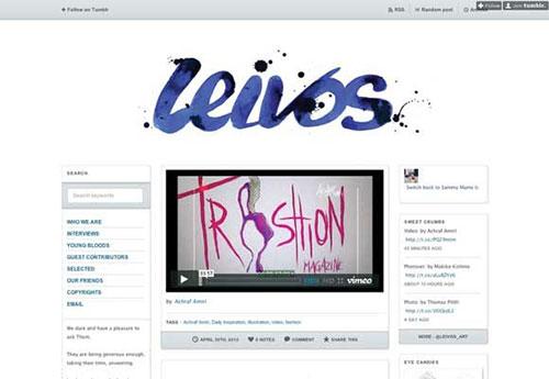 Leivos 设计博客