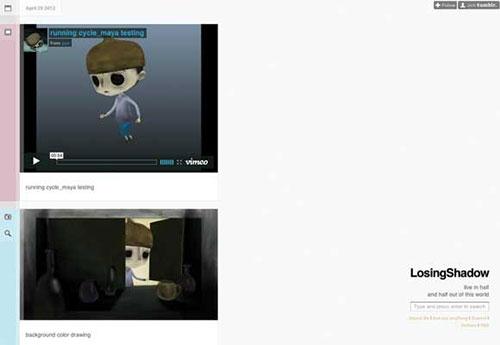 LosingShadow 设计博客