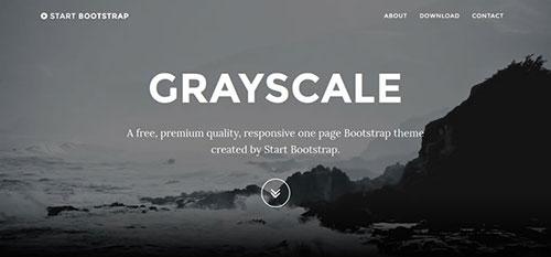 Start 响应式 html CSS 网站模板