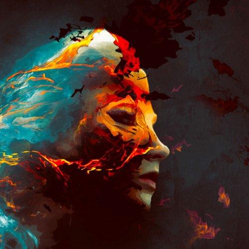 在Photoshop中创建色彩缤纷的火热人像