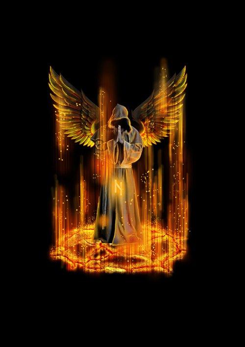 用PS制作一个死亡天使