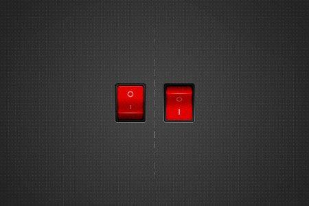 设计达人 - 漂亮的切换开关按钮PSD