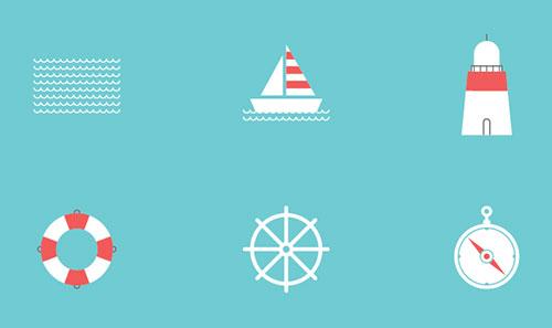 海洋图标包<