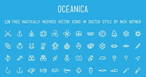 120个航海图标