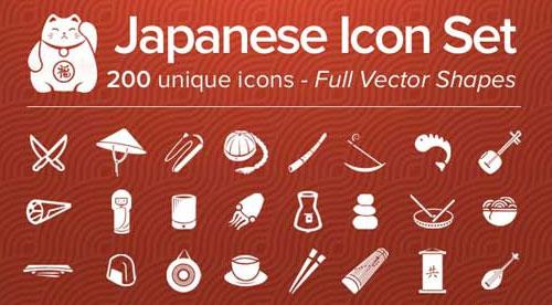 日本风格图标