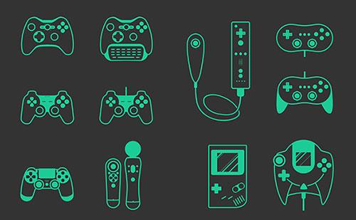游戏机设备图标