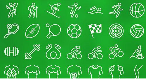 IOS7风格体育运动图标