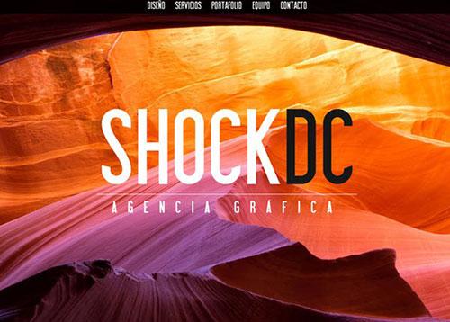 SHOCK DC Creative Agency #CSS3 #网页设计