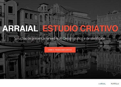 Arraial Estudio Criativo #CSS3 #网页设计