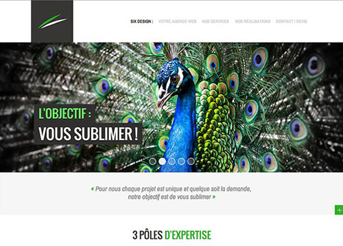 Six Design #CSS3 #网页设计